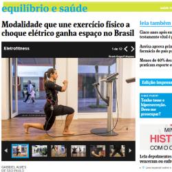 BODYPULSE  no jornal Folha de São Paulo