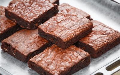 Receita de Brownie Fit
