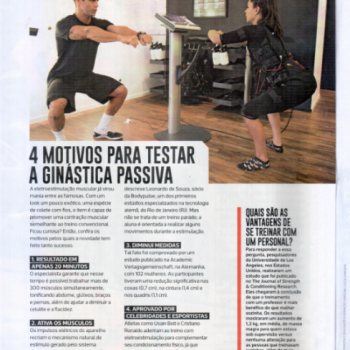 BODYPULSE é destaque na revista Corpo a Corpo