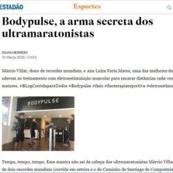 BODYPULSE é destaque na coluna Corridas para todos do jornal ESTADÃO