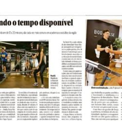 A BODYPULSE em matéria sobre os treinos de alta intensidade do jornal OGlobo.
