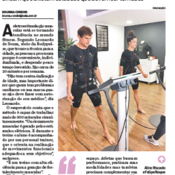 A BODYPULSE no Caderno D do jornal ODia